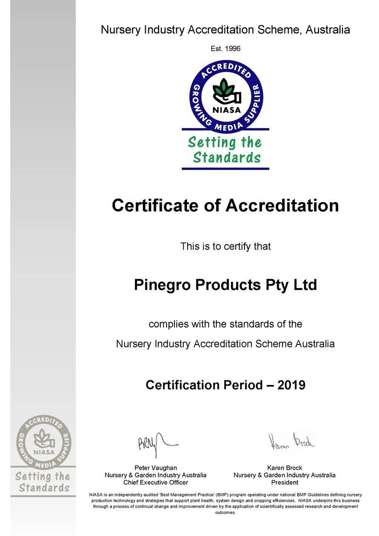 Nursery Industry Accreditation